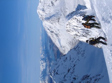 Norway is beautiful and we're just gonna ski some PoW! Imbodetinden, Lyngen, Norway.
