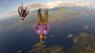 Loving it over Koster, Sweden. Photo: Mason Corby
