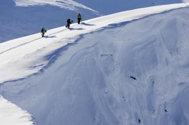 Antti Piirainen, Miikka Hast and Ode Siivonen, Tamokdalen, Norway. Photo: Rami Hanafi