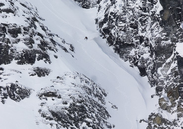 Another line somewhere up in Northern Norway. Photo: Saku Knopp