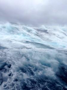 110 knots wind, 13 meter swells, Beaufort 12 storm... Drake shake not bad!