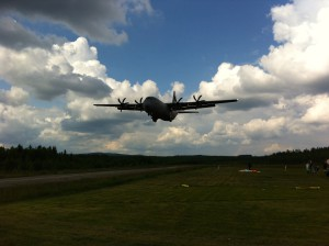 Hercules fly-by